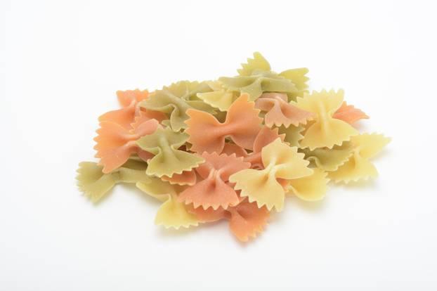 Farfalle Tricolori: bunte Schleifennudeln