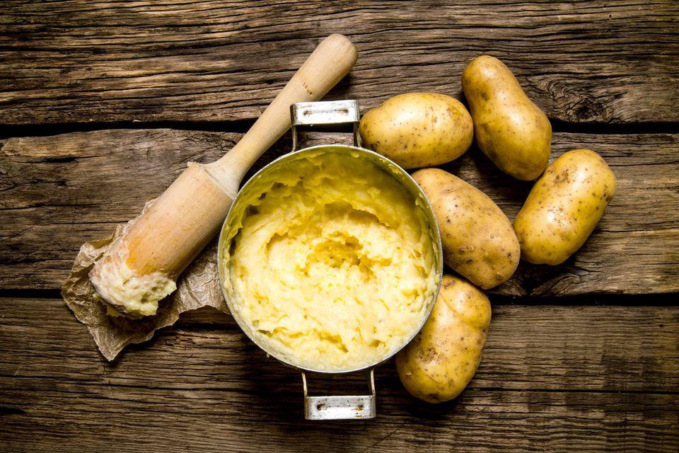 Kartoffelbrei selber machen: selbstgestampfter schmeckt es am besten