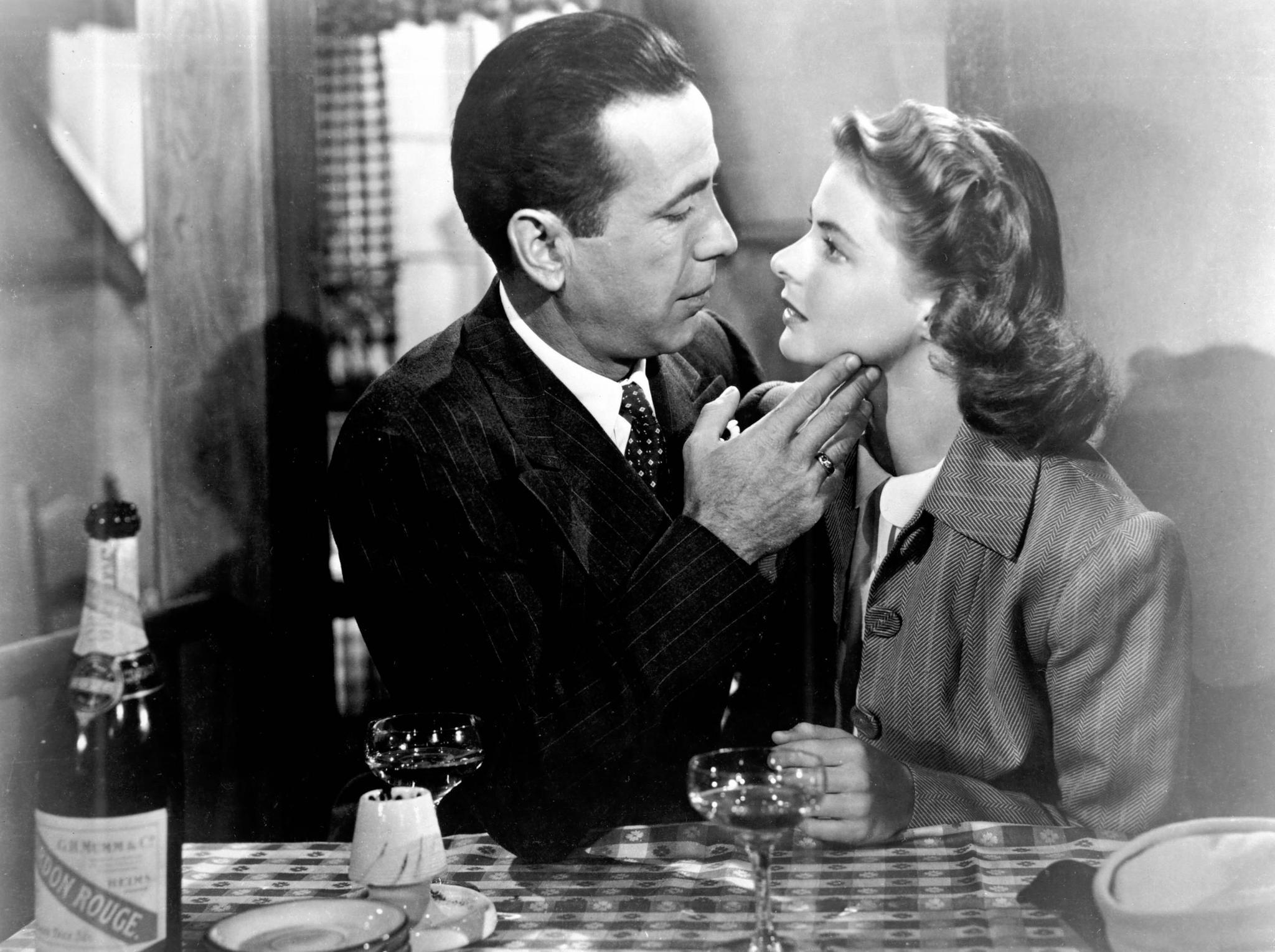 Liebesfilme: Casablanca – DVD-Cover
