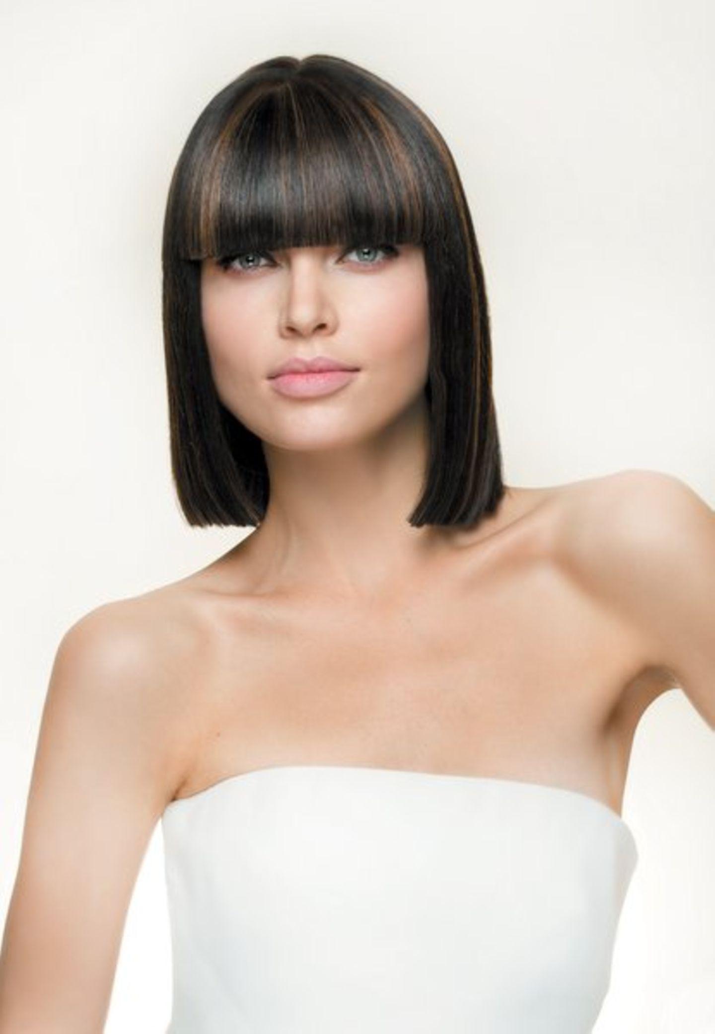 Frisuren für schwarze Haare