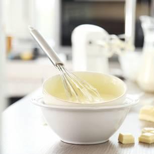 Was tun, wenn du Sahne zu Butter geschlagen hast?