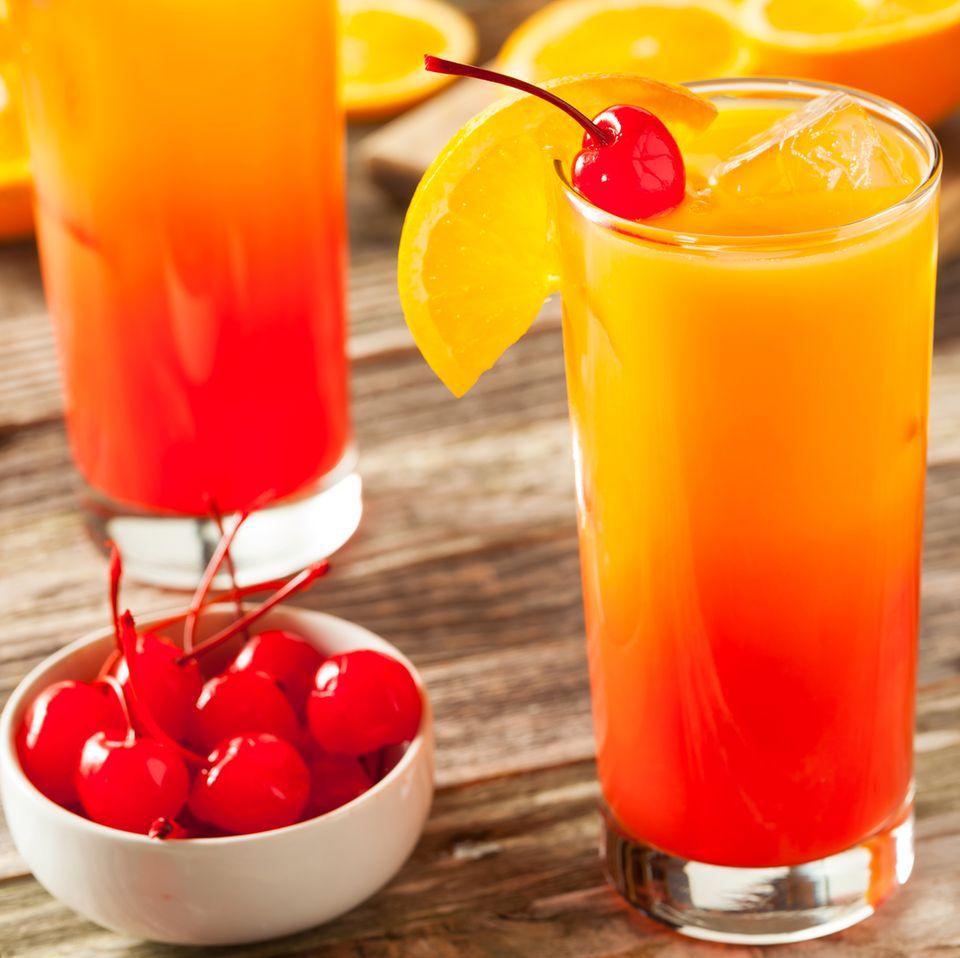 Tequila Sunrise selber mixen