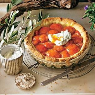 Aprikosen-Tarte