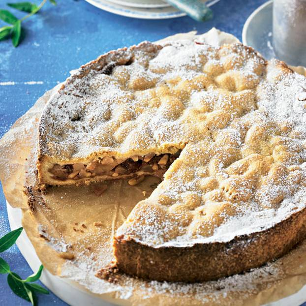 İtalyan armut pastası