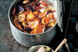 Garnelen-Eintopf mit Kochbananen