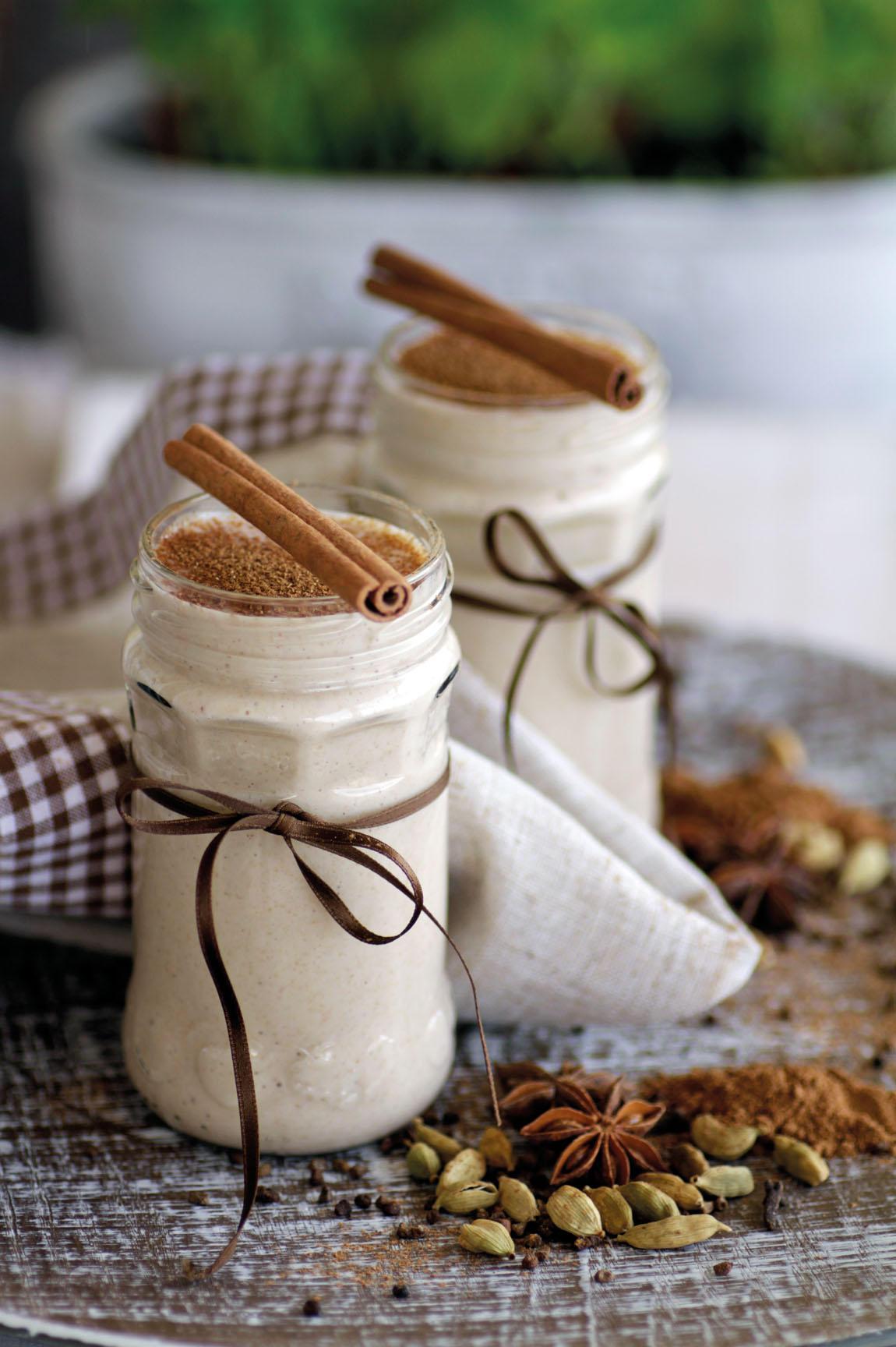 Cremiger WinterSmoothie: Pfefferkuchen-Smoothie