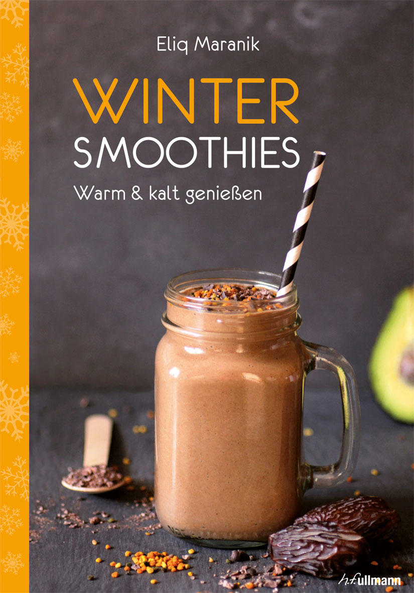 """Diese Rezepte stammen aus dem Buch """"Winter-Smoothies - Wärmende Vitaminkicks für die kalte Jahreszeit"""" von Eliq Maranik, das im Verlag h.f.ullmann erschienen ist. Ihr könnt das Buch unter anderem beim Verlag bestellen."""
