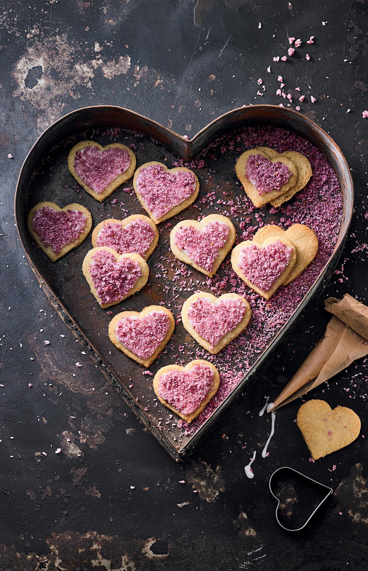 Zum Valentinstag Kuchen für die Liebsten backen ❤️