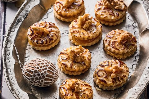 Nussplätzchen: Knusprige Kekse fürs Fest