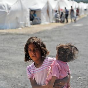 Syrisches Flüchtlingsmädchen