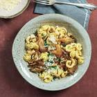 Pilz-Pasta mit Mascarpone