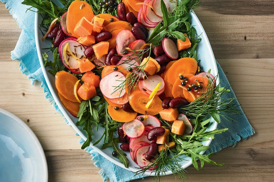 Rauke-Möhren-Gemüse