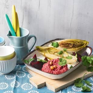 h lsenfr chte salat mit gegrilltem steak. Black Bedroom Furniture Sets. Home Design Ideas