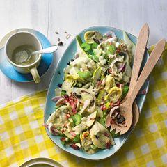 Cappelletti-Salat mit Birnen
