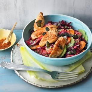 rosa-krautsalat-mit-haehnchen