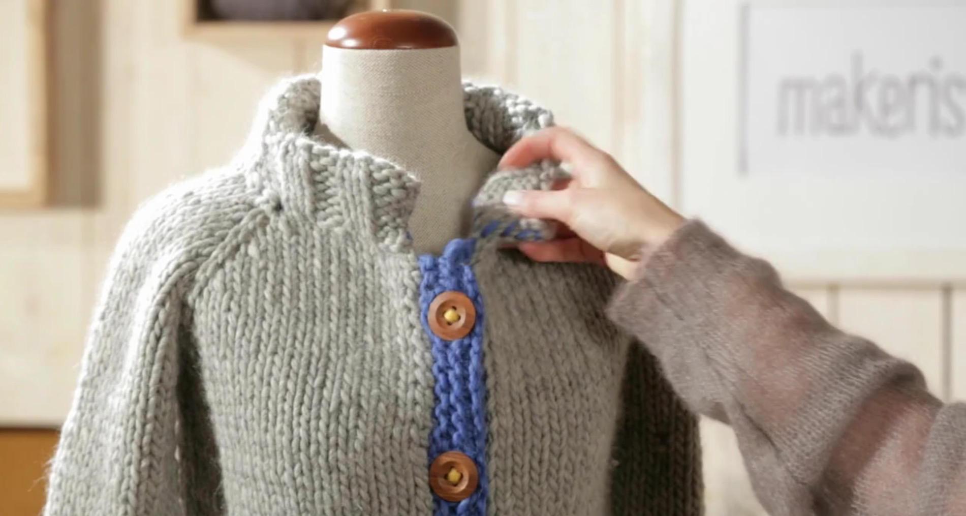 Strickmuster: Raglanpullover stricken - eine Anleitung | BRIGITTE.de