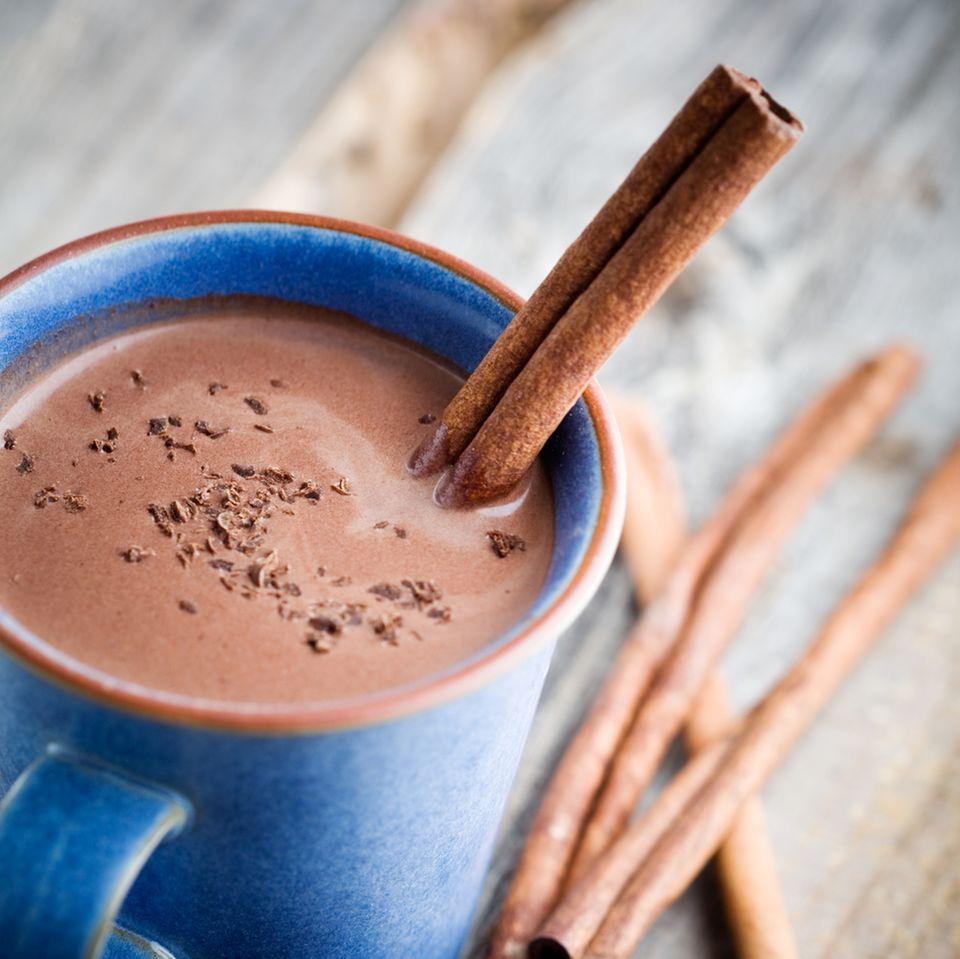 Heiße Kinder-Schokolade