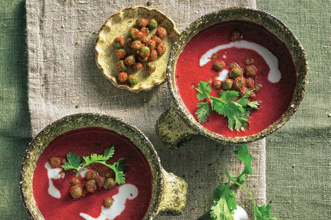 Würzige Rote-Bete-Suppe