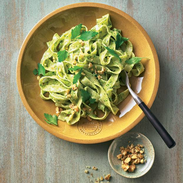 Pasta mit Walnuss-Pesto