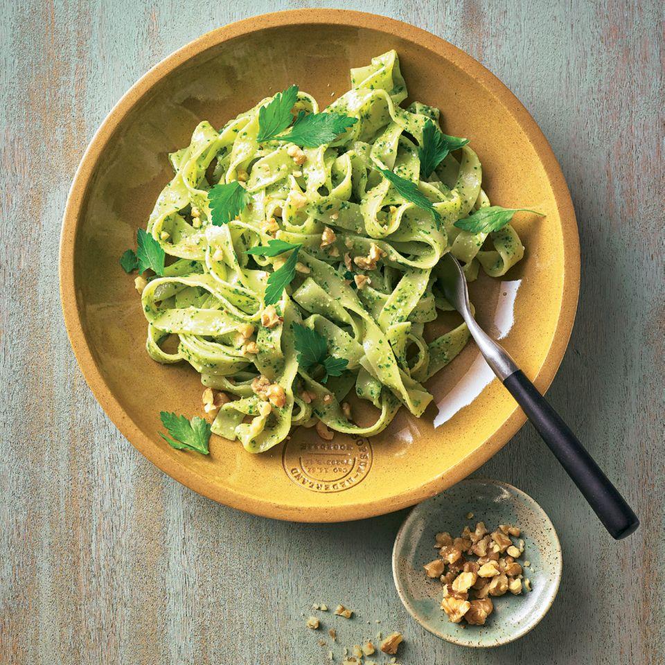 Pasta mit Walnuss-Pesto