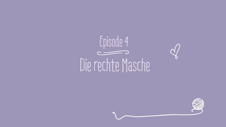 Video-Strickschule: Rechte Masche stricken