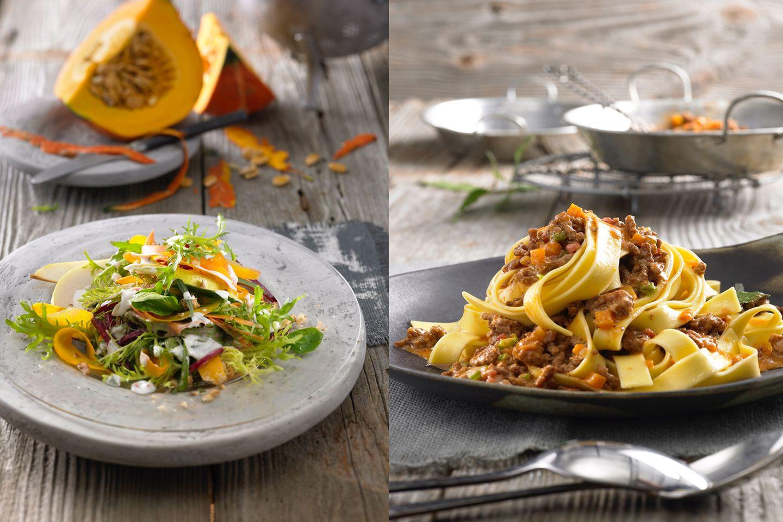 Low Carb-Genuss mit Salat und Fleisch