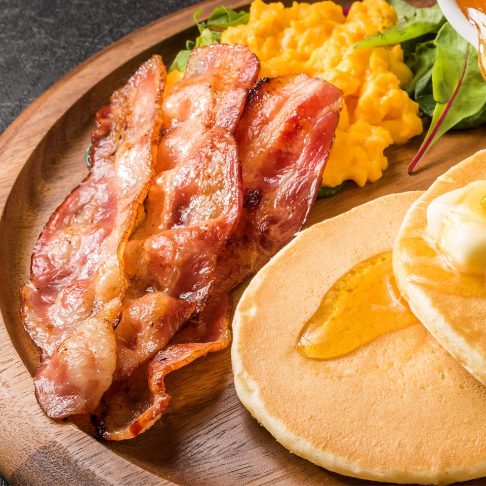 Richtig knusprigen Bacon braten