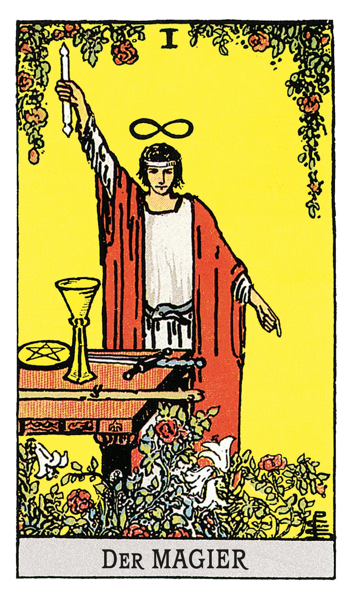 Der Magier - deine Tarotkarte   BRIGITTE.de