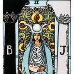 Tarotkarte Die Hohepriesterin