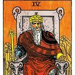 Tarotkarte Der Herrscher