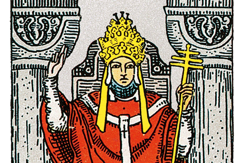 Tarotkarte Der Hierophant