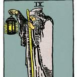 Tarotkarte Der Eremit