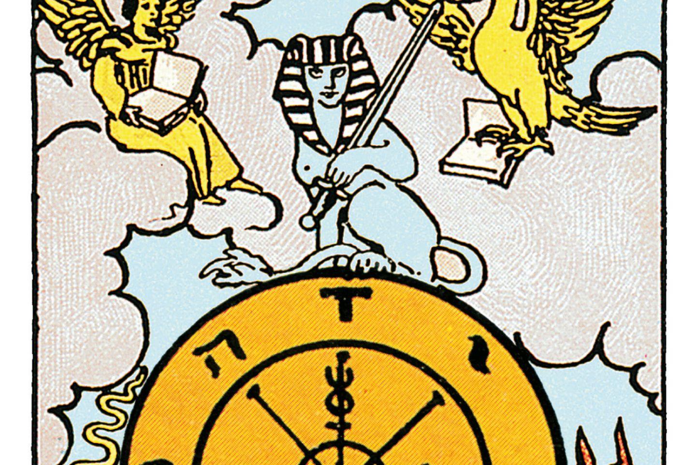 Tarotkarte Das Rad des Schicksals