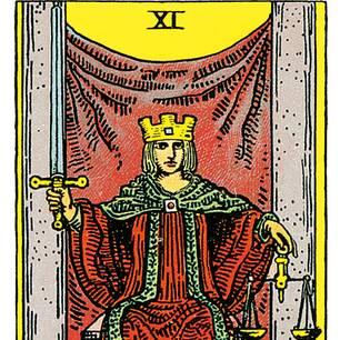 Tarotkarte Die Gerechtigkeit