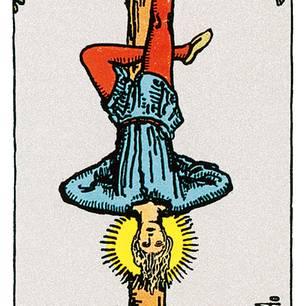 Tarotkarte Der Gehängte