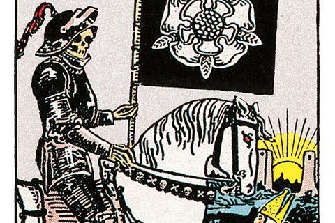 Tarotkarte Der Tod