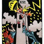 Tarotkarte Der Turm