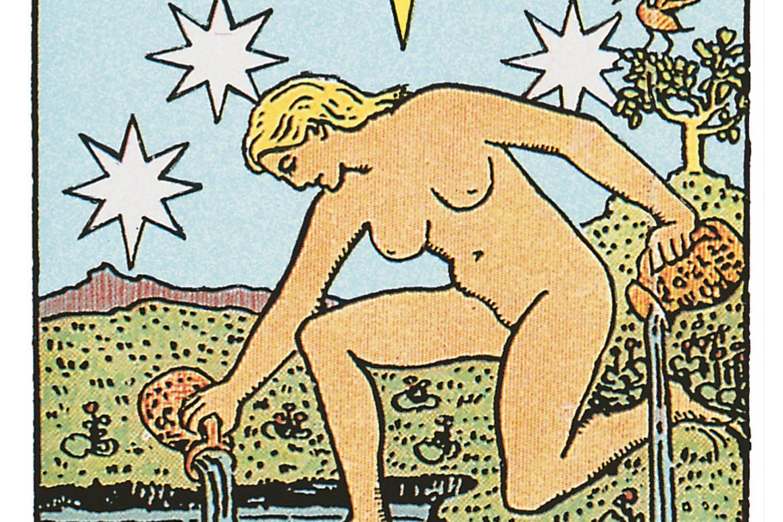 Tarotkarte Der Stern