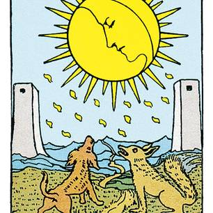 Tarotkarte Der Mond