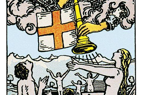 Tarotkarte Das Gericht