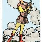Tarotkarte Der Bube der Schwerter