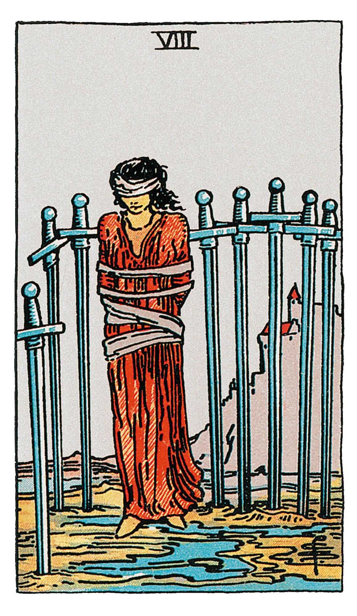 Acht der Schwerter - deine Tarotkarte   BRIGITTE.de