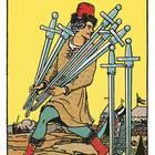 Tarotkarte Sieben der Schwerter