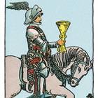 Tarotkarte Der Ritter der Kelche