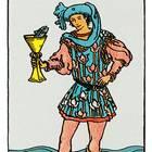 Tarotkarte Der Bube der Kelche