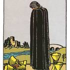Tarotkarte Fünf der Kelche