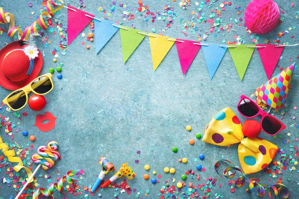 Ideen für selbstgemachte Karnevals-Deko