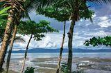 Die Drake Bay zweigt im Nordwesten von Osa vom Pazifik ab.
