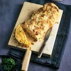 Sauerkrautstrudel mit Süßkartoffeln