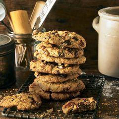 Große Schoko-Cookies